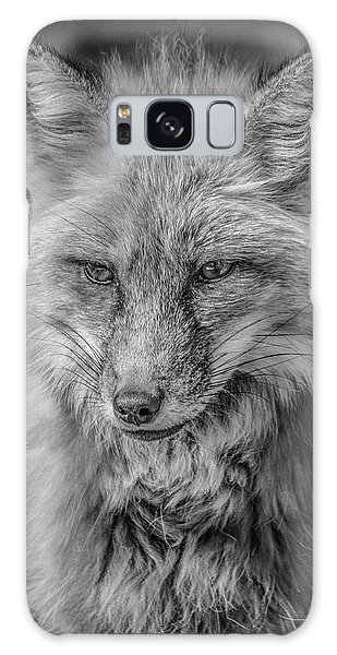 Striking A Pose Black And White Galaxy Case