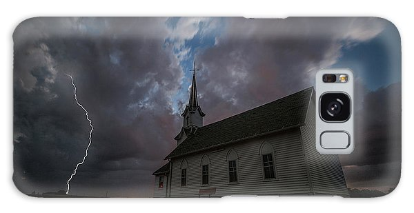 Galaxy Case featuring the photograph Striking  by Aaron J Groen