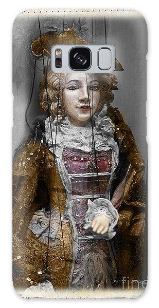 String Lady Galaxy Case
