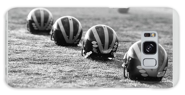 Striped Helmets On The Field Galaxy Case