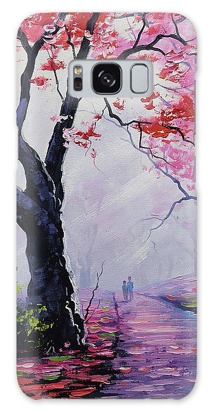 Salmon Galaxy S8 Case - Stroll In The Mist by Graham Gercken