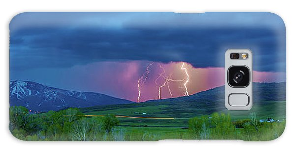 Storm Peak  Galaxy Case