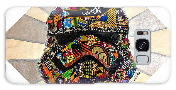 Strom Trooper Afrofuturist  Galaxy Case