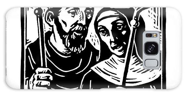 Sts. Benedict And Scholastica - Jlbas Galaxy Case