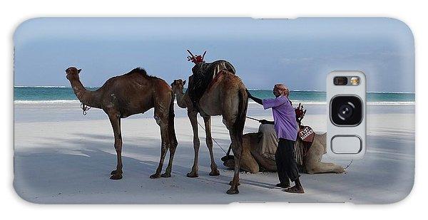 Stubborn Wedding Camels Galaxy Case