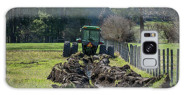 Stuck In The Muck Agriculture Art By Kaylyn Franks Galaxy Case