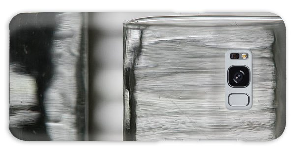 Studies In Glass ...shades Of Grey Galaxy Case by Lynn England