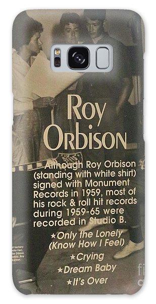 Studio B Roy Orbison  Galaxy Case by Chuck Kuhn