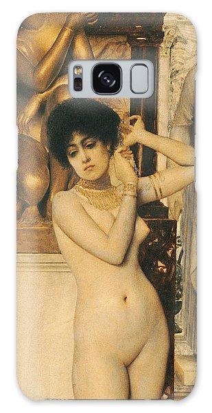Earring Galaxy Case - Study For Allegory Of Sculpture by Gustav Klimt