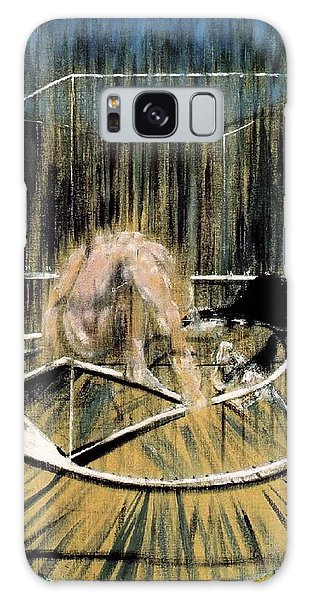 Study For Crouching Nude Galaxy Case by Francis Bacon