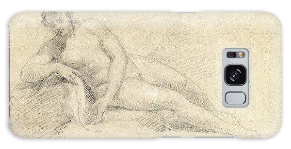 Beautiful Girl Galaxy Case - Study Of A Female Nude  by William Hogarth