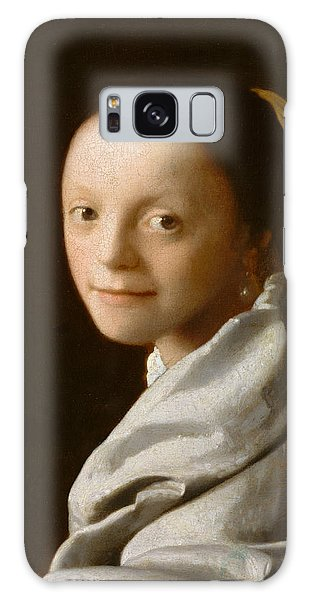 Jan Vermeer Galaxy Case - Study Of A Young Woman by Jan Vermeer