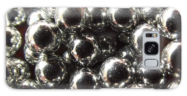 Galaxy Case featuring the photograph Study Of Bb's, An Abstract. by Shelli Fitzpatrick