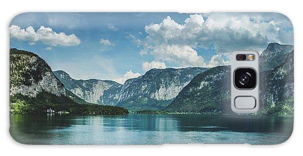 Stunning Lake Hallstatt Panorama Galaxy Case