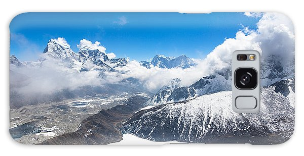 Stunning Panorama Over Gokyo In Nepal Galaxy Case