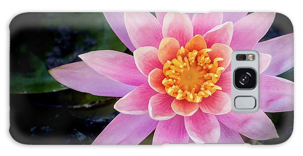 Stunning Water Lily Galaxy Case