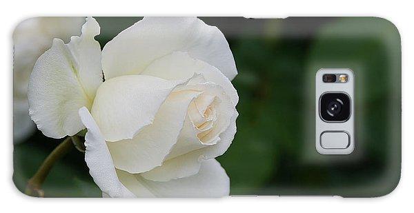 Stunning White Tineke Rose Galaxy Case