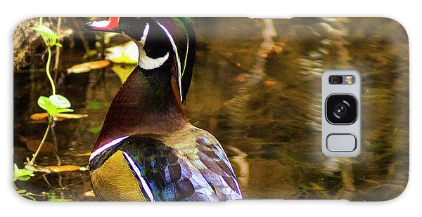 Stunning Wood Duck Galaxy Case