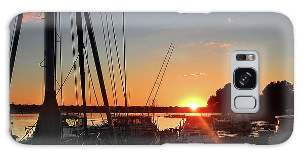 Sturgeon Bay Sunset Galaxy Case