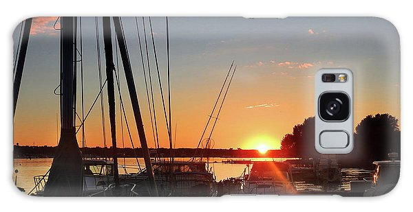Sturgeon Bay Sunset Galaxy Case