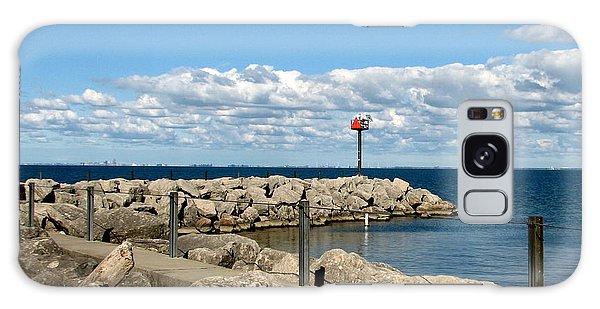 Sturgeon Point Marina On Lake Erie Galaxy Case