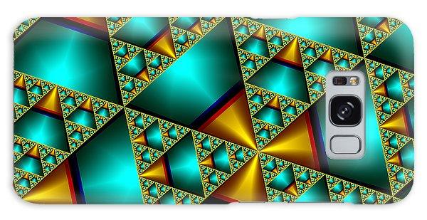 Sublime Sierpinski Fractal Galaxy Case by Manny Lorenzo