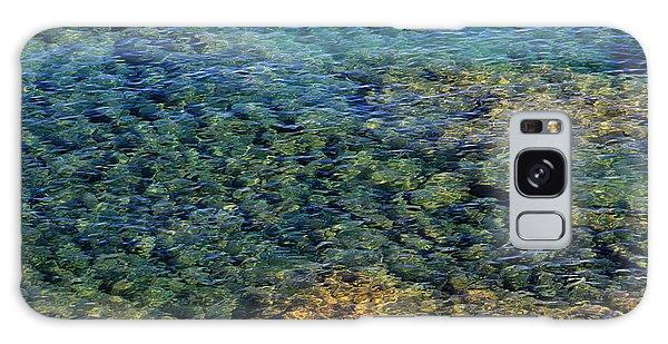 Submerged Rocks At Lake Superior Galaxy Case