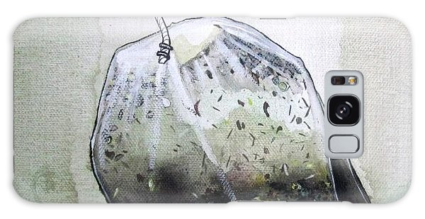 Submerged Tea Bag Galaxy Case