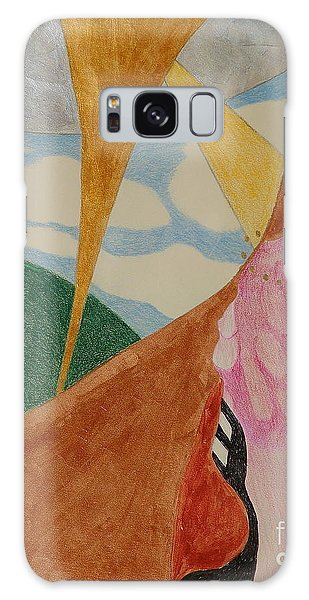 Galaxy Case featuring the drawing Subteranian  by Rod Ismay