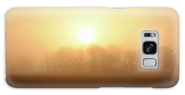 Subtle Sunrise Galaxy Case