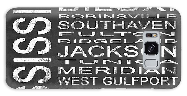 Olive Branch Galaxy Case - Subway Mississippi State Square by Melissa Smith