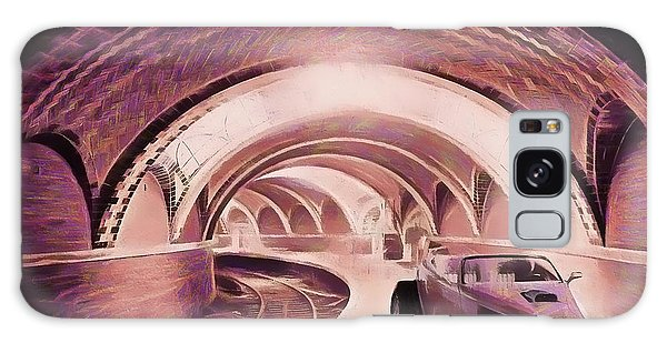 Subway Racer Galaxy Case by Michael Cleere