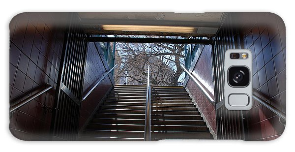 Subway Stairs To Freedom Galaxy Case by Rob Hans