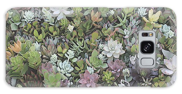 Succulent 8 Galaxy Case