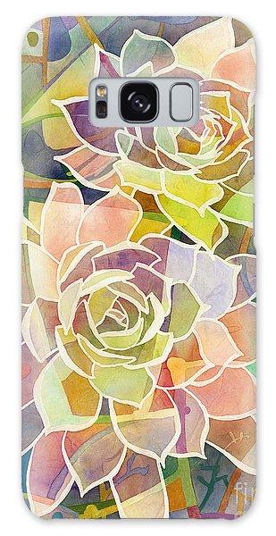 Botanical Garden Galaxy Case - Succulent Mirage 2 by Hailey E Herrera