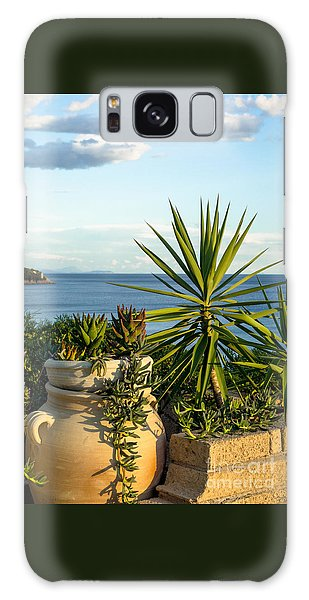 Succulents By The Sea Galaxy Case