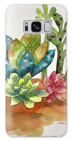 Succulents Galaxy Case