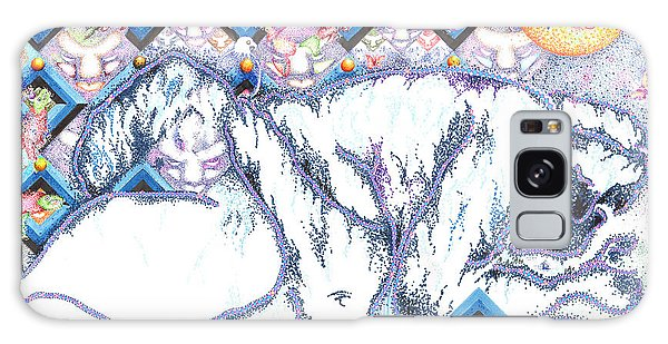 Suenos De Invierno Winter Dreams Galaxy Case