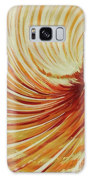 Galaxy Case featuring the painting Sufi-2 by Nizar MacNojia