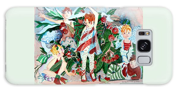 Sugar Plum Fairies Galaxy Case by Mindy Newman