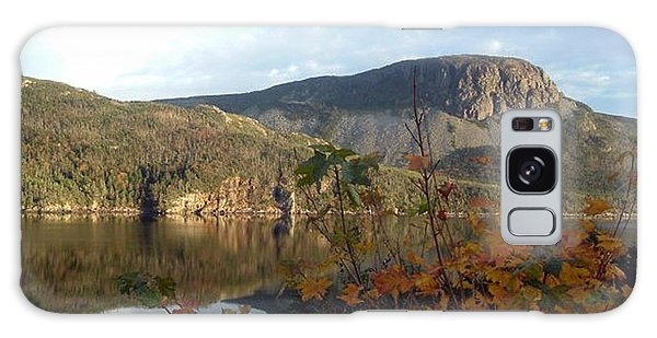 Sugarloaf Hill In Autumn Galaxy Case by Barbara Griffin