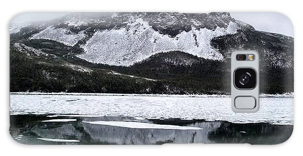 Sugarloaf Hill Reflections In Winter Galaxy Case by Barbara Griffin