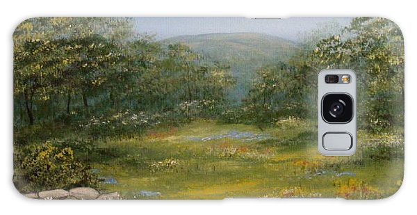 Sugarloaf Meadow Galaxy Case by Leea Baltes