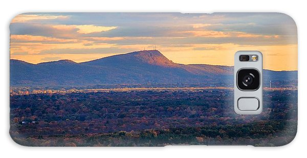 Sugarloaf View, South Deerfield, Ma Galaxy Case