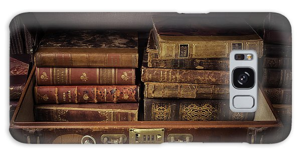 Suitcase Full Of Books Galaxy Case