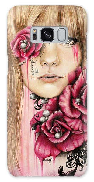 Sullenly Sweet  Galaxy Case by Sheena Pike