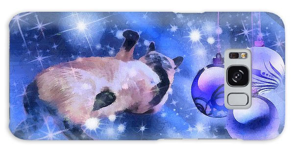Sulley's Christmas Blues Galaxy Case