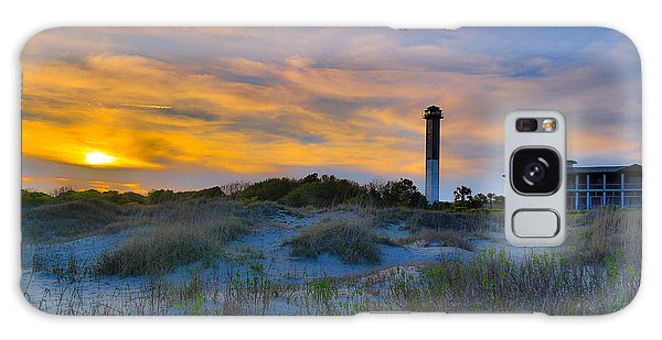 Sullivan's Island Lighthouse At Dusk - Sullivan's Island Sc Galaxy Case
