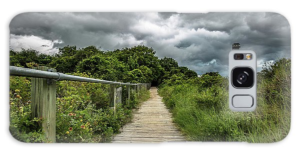 Sullivan's Island Summer Storm Clouds Galaxy Case
