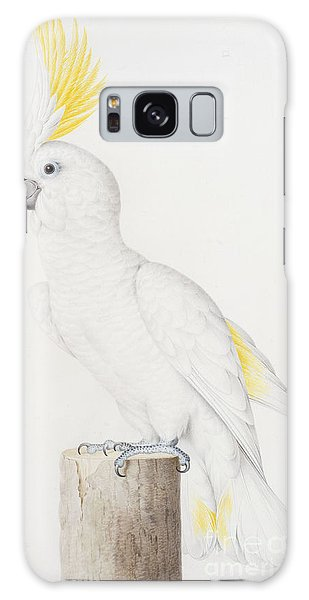 Sulphur Crested Cockatoo Galaxy Case